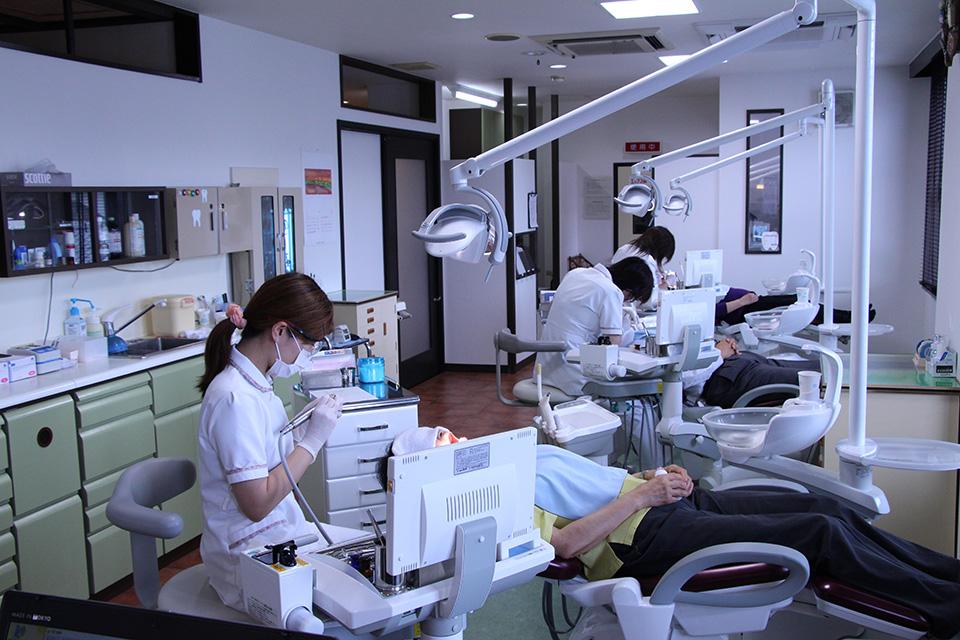 会田歯科医院 院内