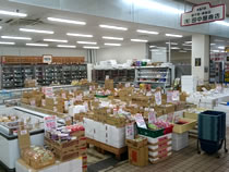 有限会社田中屋商店 店舗売り場