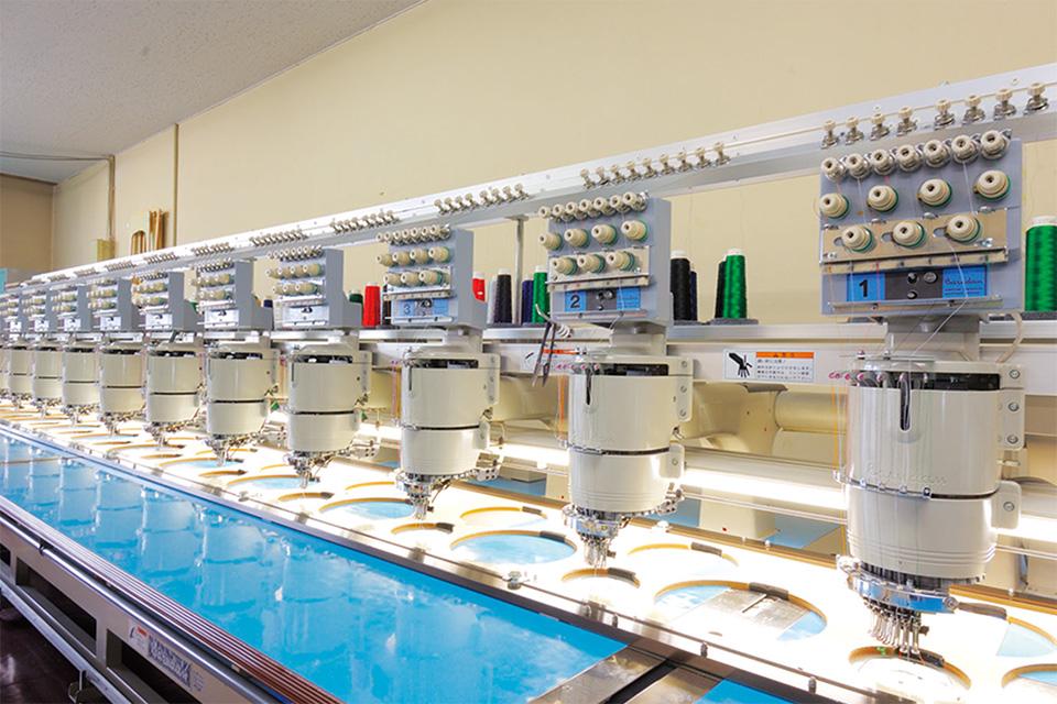 山本被服株式会社 製造機器