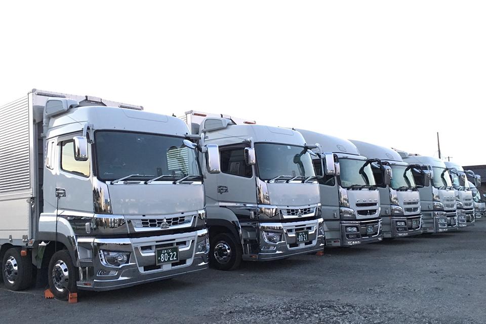 優伸運輸株式会社 トラック